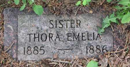 JOHNSON, THORA EMELIA - Lincoln County, South Dakota | THORA EMELIA JOHNSON - South Dakota Gravestone Photos
