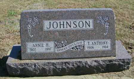 JOHNSON, T ANTHONY - Lincoln County, South Dakota | T ANTHONY JOHNSON - South Dakota Gravestone Photos