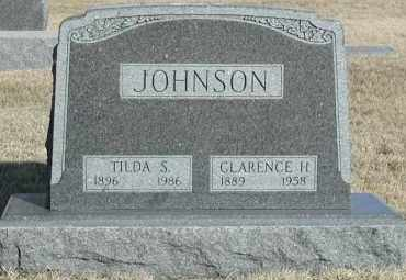 JOHNSON, CLARENCE H - Lincoln County, South Dakota | CLARENCE H JOHNSON - South Dakota Gravestone Photos