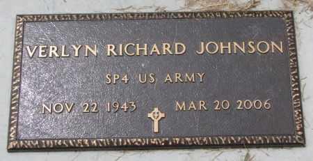 JOHNSON, VERLYN RICHARD (MILITARY) - Lincoln County, South Dakota | VERLYN RICHARD (MILITARY) JOHNSON - South Dakota Gravestone Photos
