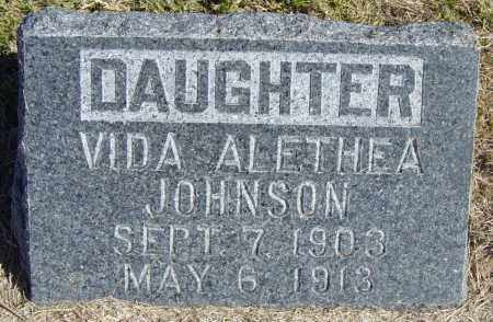 JOHNSON, VIDA ALETHEA - Lincoln County, South Dakota | VIDA ALETHEA JOHNSON - South Dakota Gravestone Photos