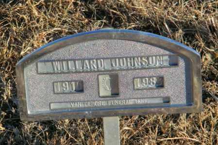 JOHNSON, WILLARD - Lincoln County, South Dakota | WILLARD JOHNSON - South Dakota Gravestone Photos