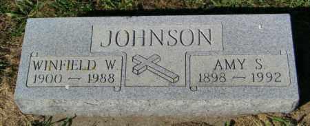 JOHNSON, WINFIELD W. - Lincoln County, South Dakota | WINFIELD W. JOHNSON - South Dakota Gravestone Photos