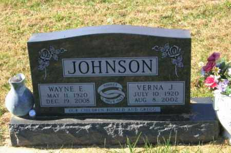 JOHNSON, VERNA J - Lincoln County, South Dakota | VERNA J JOHNSON - South Dakota Gravestone Photos