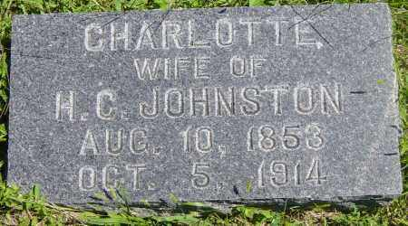 JOHNSTON, CHARLOTTE - Lincoln County, South Dakota | CHARLOTTE JOHNSTON - South Dakota Gravestone Photos