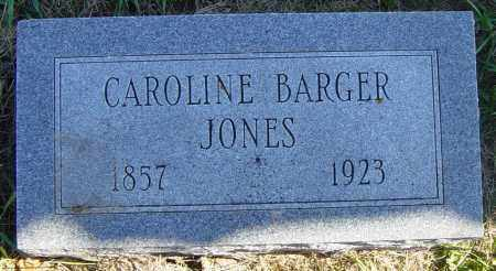 BARGER JONES, CAROLINE - Lincoln County, South Dakota | CAROLINE BARGER JONES - South Dakota Gravestone Photos