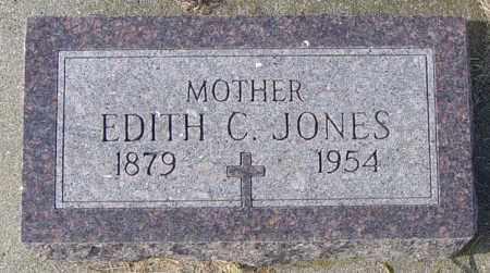 JONES, EDITH C - Lincoln County, South Dakota | EDITH C JONES - South Dakota Gravestone Photos
