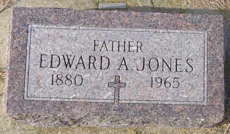 JONES, EDWARD A - Lincoln County, South Dakota | EDWARD A JONES - South Dakota Gravestone Photos