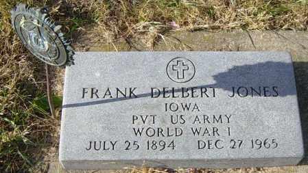 JONES, FRANK DELBERT - Lincoln County, South Dakota | FRANK DELBERT JONES - South Dakota Gravestone Photos