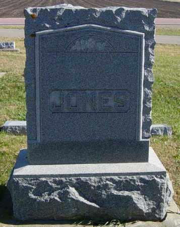 JONES FAMILY MEMORIAL, JOSIAH J - Lincoln County, South Dakota | JOSIAH J JONES FAMILY MEMORIAL - South Dakota Gravestone Photos
