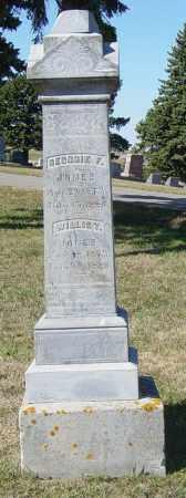 JONES, WILLIE T - Lincoln County, South Dakota   WILLIE T JONES - South Dakota Gravestone Photos