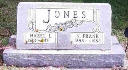 JONES, N FRANK - Lincoln County, South Dakota | N FRANK JONES - South Dakota Gravestone Photos