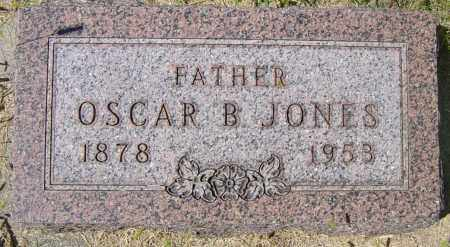JONES, OSCAR B - Lincoln County, South Dakota | OSCAR B JONES - South Dakota Gravestone Photos