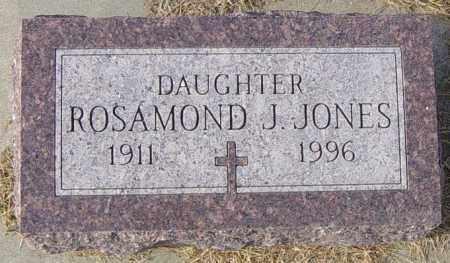 JONES, ROSAMOND J - Lincoln County, South Dakota | ROSAMOND J JONES - South Dakota Gravestone Photos