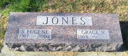 JONES, S EUGENE - Lincoln County, South Dakota | S EUGENE JONES - South Dakota Gravestone Photos