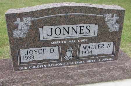 JONNES, JOYCE - Lincoln County, South Dakota | JOYCE JONNES - South Dakota Gravestone Photos