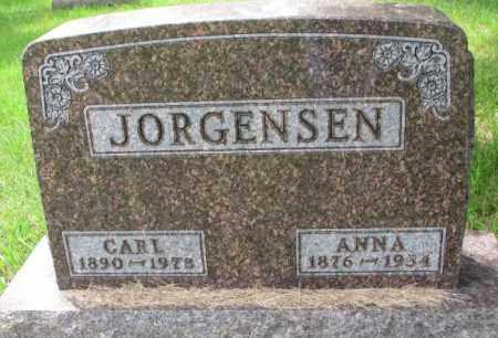 JORGENSEN, ANNA - Lincoln County, South Dakota | ANNA JORGENSEN - South Dakota Gravestone Photos