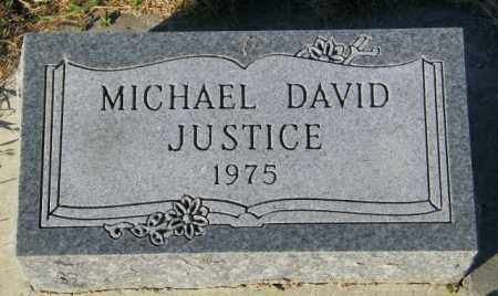 JUSTICE, MICHAEL DAVID - Lincoln County, South Dakota | MICHAEL DAVID JUSTICE - South Dakota Gravestone Photos