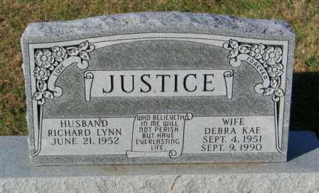 JUSTICE, RICHARD LYNN - Lincoln County, South Dakota | RICHARD LYNN JUSTICE - South Dakota Gravestone Photos