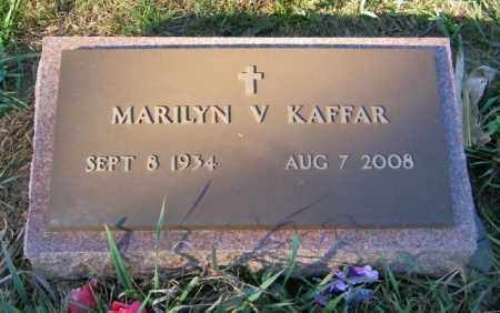 KAFFAR, MARILYN V - Lincoln County, South Dakota   MARILYN V KAFFAR - South Dakota Gravestone Photos
