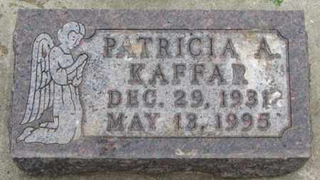 KAFFAR, PATRICIA A. - Lincoln County, South Dakota | PATRICIA A. KAFFAR - South Dakota Gravestone Photos