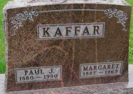 KAFFAR, MARGARET - Lincoln County, South Dakota | MARGARET KAFFAR - South Dakota Gravestone Photos