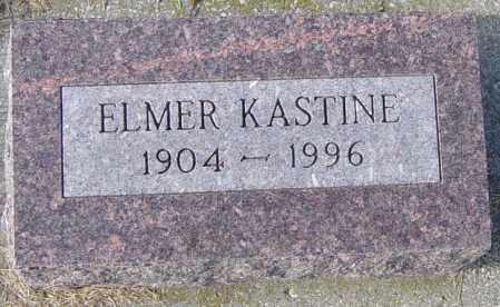 KASTINE, ELMER - Lincoln County, South Dakota   ELMER KASTINE - South Dakota Gravestone Photos