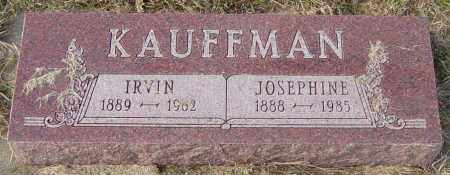 KAUFFMAN, JOSEPHINE - Lincoln County, South Dakota | JOSEPHINE KAUFFMAN - South Dakota Gravestone Photos
