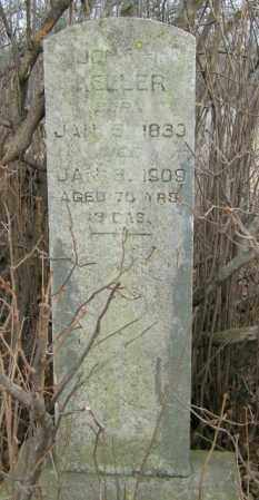 KELLER, JOHN H. - Lincoln County, South Dakota   JOHN H. KELLER - South Dakota Gravestone Photos