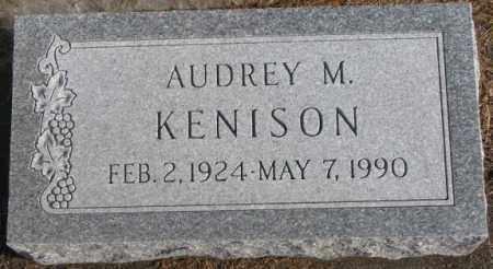 KENISON, AUDREY M. - Lincoln County, South Dakota   AUDREY M. KENISON - South Dakota Gravestone Photos