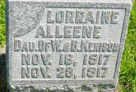 KENISON, LORRAINE ALLEENE - Lincoln County, South Dakota | LORRAINE ALLEENE KENISON - South Dakota Gravestone Photos