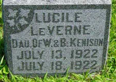 KENISON, LUCILE LEVERNE - Lincoln County, South Dakota | LUCILE LEVERNE KENISON - South Dakota Gravestone Photos