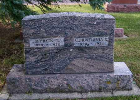 KENISON, CHRISTIANIA S. - Lincoln County, South Dakota | CHRISTIANIA S. KENISON - South Dakota Gravestone Photos