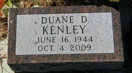 KENLEY, DUANE D. - Lincoln County, South Dakota   DUANE D. KENLEY - South Dakota Gravestone Photos