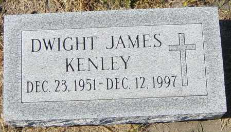 KENLEY, DWIGHT JAMES - Lincoln County, South Dakota | DWIGHT JAMES KENLEY - South Dakota Gravestone Photos