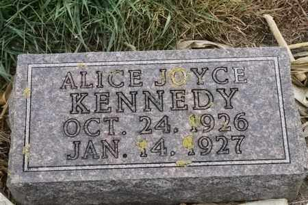 KENNEDY, ALICE JOYCE - Lincoln County, South Dakota | ALICE JOYCE KENNEDY - South Dakota Gravestone Photos