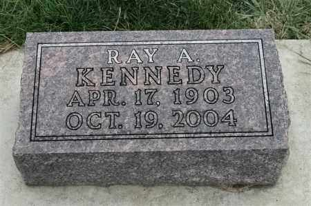 KENNEDY, RAY A - Lincoln County, South Dakota | RAY A KENNEDY - South Dakota Gravestone Photos