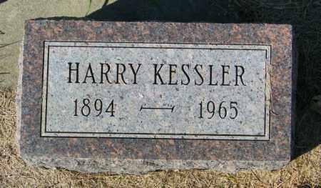 KESSLER, HARRY - Lincoln County, South Dakota   HARRY KESSLER - South Dakota Gravestone Photos