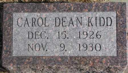 KIDD, CAROL DEAN - Lincoln County, South Dakota | CAROL DEAN KIDD - South Dakota Gravestone Photos