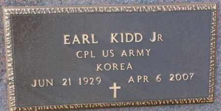 KIDD, EARL JR. (KOREA) - Lincoln County, South Dakota | EARL JR. (KOREA) KIDD - South Dakota Gravestone Photos