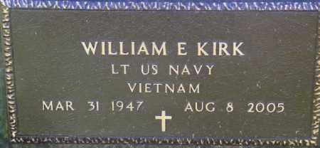 KIRK, WILLIAM E. - Lincoln County, South Dakota   WILLIAM E. KIRK - South Dakota Gravestone Photos