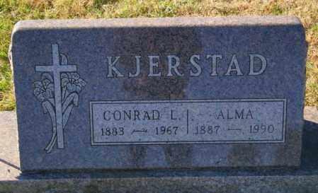 KJERSTAD, ALMA - Lincoln County, South Dakota | ALMA KJERSTAD - South Dakota Gravestone Photos