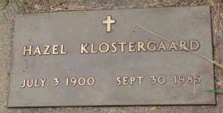 KLOSTERGAARD, HAZEL - Lincoln County, South Dakota | HAZEL KLOSTERGAARD - South Dakota Gravestone Photos