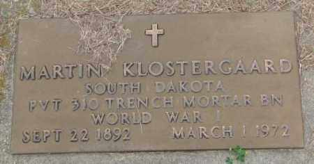 KLOSTERGAARD, MARTIN (WW I) - Lincoln County, South Dakota | MARTIN (WW I) KLOSTERGAARD - South Dakota Gravestone Photos