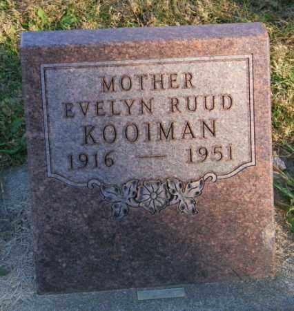 RUUD KOOIMAN, EVELYN - Lincoln County, South Dakota | EVELYN RUUD KOOIMAN - South Dakota Gravestone Photos