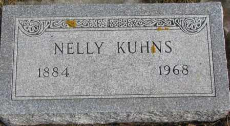 KUHNS, NELLY - Lincoln County, South Dakota | NELLY KUHNS - South Dakota Gravestone Photos