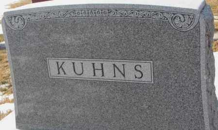 KUHNS, PLOT - Lincoln County, South Dakota | PLOT KUHNS - South Dakota Gravestone Photos