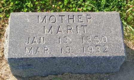 KVALSHAIG, MARIT - Lincoln County, South Dakota | MARIT KVALSHAIG - South Dakota Gravestone Photos