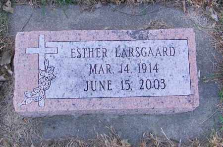 LARSGAARD, ESTHER - Lincoln County, South Dakota | ESTHER LARSGAARD - South Dakota Gravestone Photos