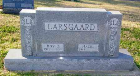LARSGAARD, HAZEL - Lincoln County, South Dakota   HAZEL LARSGAARD - South Dakota Gravestone Photos